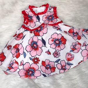 Infant Floral Print Spring Dress